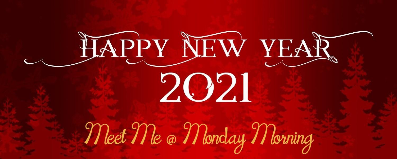 banner meet me at monday morning 4 januari 2021