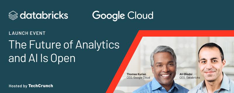 Databricks and Google Cloud Launch Event   Hopin