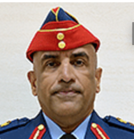 Major General Staff Pilot Ishaq Saleh Al-Balushi