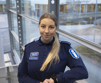 Poliisiopiskelija Mona Watkins